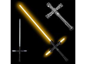 """Světelný meč """"SURVIVOUR OF MALACHOR"""" Plně kontaktní! Multi-color!!!"""