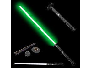 """Světelný meč """"KATANA SABER"""" Plně kontaktní s ochranou ruky! Multi-color!!!"""