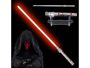 """Světelný meč """"DARTH MAUL NEXT GENERATION"""" Plně kontaktní! Multi-COLOR!!!"""