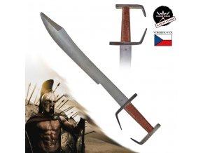 """Kovaný sparťanský meč """"300 SPARTANS"""" na kontaktní šerm!"""