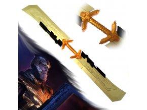 "Thanosův Double-Edged sword ""SWORD OF THANOS"" Avenger"