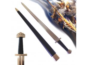 """Vikingský meč """"ULFBERHT"""" ostrý, funkční!"""