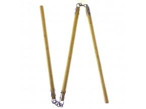"""Trojitá hůl """"SANSETSUKON"""" dřevěná"""