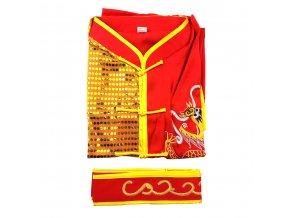 """Kung Fu kostým """"SHAOLIN"""" červený"""