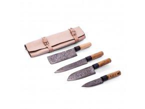 """Sada damaškových kuchyňských nožů """"MASTER CHEF"""""""