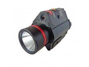 Laser s baterkou 3