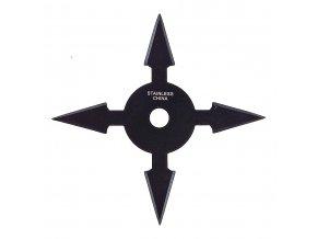 """Vrhací hvězdice """"SMALL-ARROW BLACK"""" čtyřcípá, černá"""