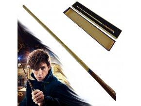 """Kouzelnická hůlka """"NEWT SCAMANDER"""" Fantastická zvířata (Harry Potter)"""