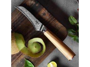 """Damaškový loupací nůž """"PARING"""" na ovoce a zeleninu"""
