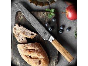 """Damaškový nůž na chléb """"FRESH BREAD"""""""