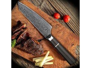 """Kuchařský damaškový nůž """"KITCHEN BOY"""""""
