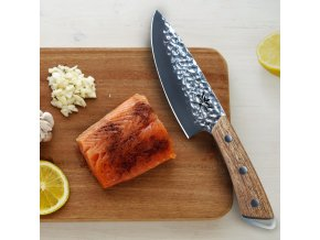 "Šéfkuchařův nůž ""SIBERIA"" opracovaný"