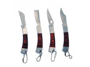 """Sada malých nožíků """"VEST POCKET"""" - 4 kusy!"""