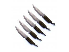 """Střední vrhací nůž """"PILOT"""" - EKONOMICKÉ BALENÍ 5 kusů"""