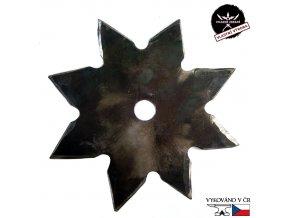 """Ručně kovaná vrhací hvězdice """"SHARP SUN - LIVING HISTORY"""""""