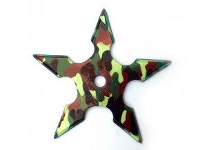 """Vrhací hvězdice """"ARMY NATTY"""" pěticípá"""