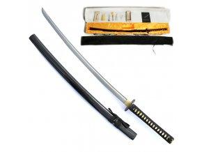 """Samurajská HQ katana """"HATTORI HANZO"""" s bohatým příslušenstvím!"""