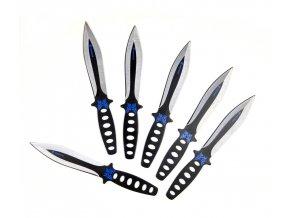 """Megasada vrhacích nožů """"BLOODY EAGLE"""" mini - 6ks!"""