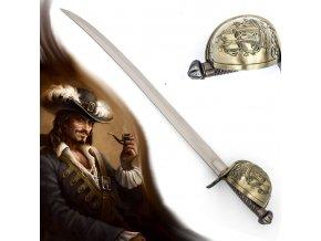 """Pirátská šavle """"CORSAIR"""" zpevněná"""