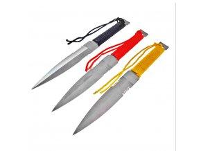 "Vrhací nože ""COLOR SPIKE"" - 3ks"