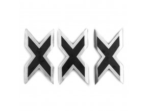 """Sada vrhacích hvězdic """"X-X-X"""" - 3 ks"""
