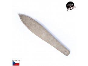 """Velký vrhací nůž """"CHLADNEZBRANE.EU"""" železný, nikl"""