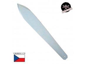 """Obří vrhací nůž """"CHLADNEZBRANE.EU"""" ocel, zinek"""