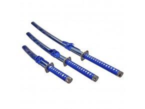 sada samurajských mečů