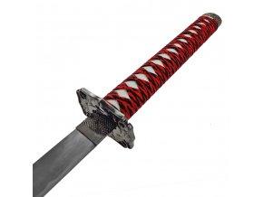 červená katana samurajský meč