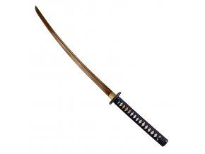 zlatá katana samurajský meč