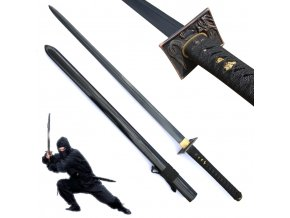 "Katana ""DOUBLE EDGE KILLER"" obousečná"