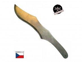 """Velký vrhací nůž """"CHLADNEZBRANE.EU"""" nerezový"""