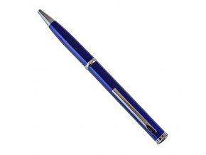 """Propiska s nožem """"SPY NEEDLE BLUE"""" tmavě modrá"""