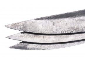 """Sada kovaných vrhacích nožů """"NON-SPIN THROW"""" - 3 ks"""