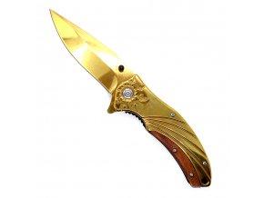"""Poloautomatický nůž """"GOLDEN LUXURY"""""""