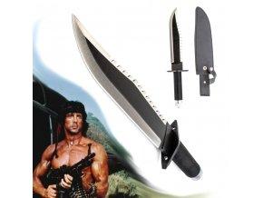 """Rambo nůž """"FIRST BLOOD PART II"""" s multivýbavou"""