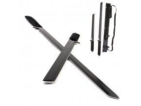"Ninja mačety ""DUAL SHINOBI"" 2 ks"