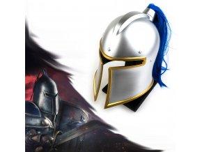 """Alianční přilba """"PROTECT OF LIGHT"""", Warcraft"""