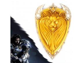 """Královský zlatý štít """"KING'S LLANE SHIELD"""", Warcraft - Aliance"""