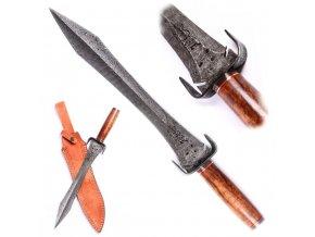 """Damaškový meč """"BLACK KNIGHT"""""""