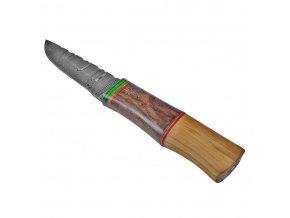 """Damaškový severský nůž """" VARJAGS WAY"""""""