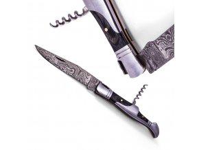 """Damaškový zavírací nůž """"SILVER GRAPE"""""""