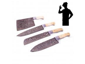"""Sada damaškových kuchyňských nožů """"EUROPEAN CLASSIC"""""""
