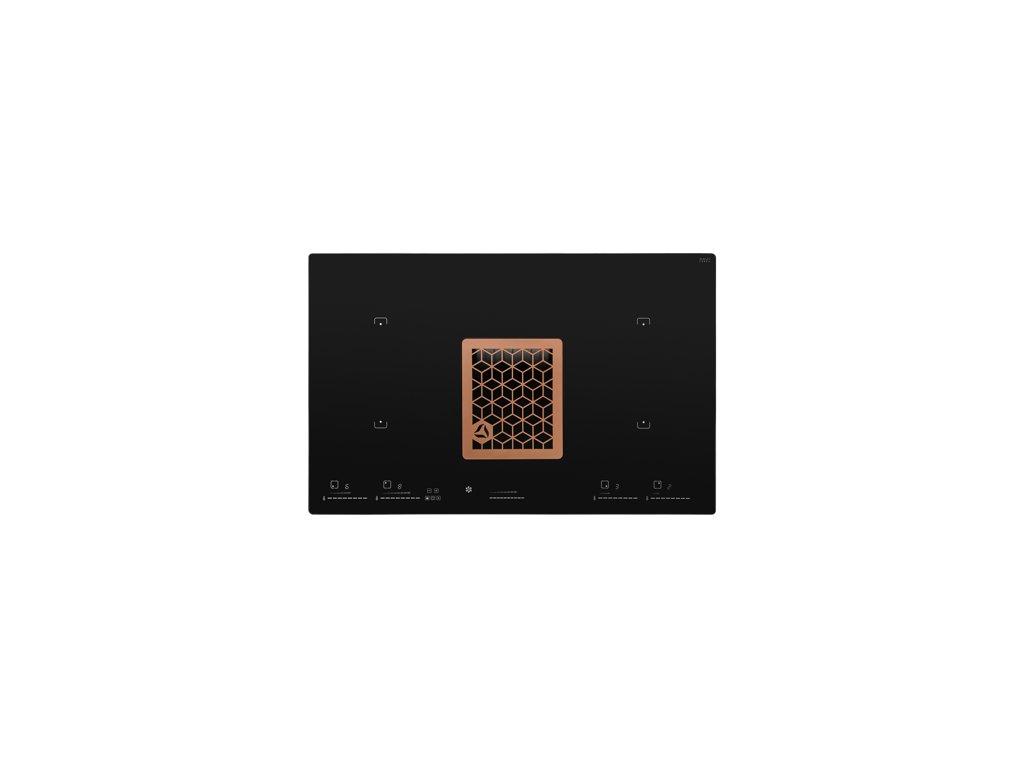 0048168 indukcni deska s integrovanym odsavacem wizard copper cdb8001cr 415