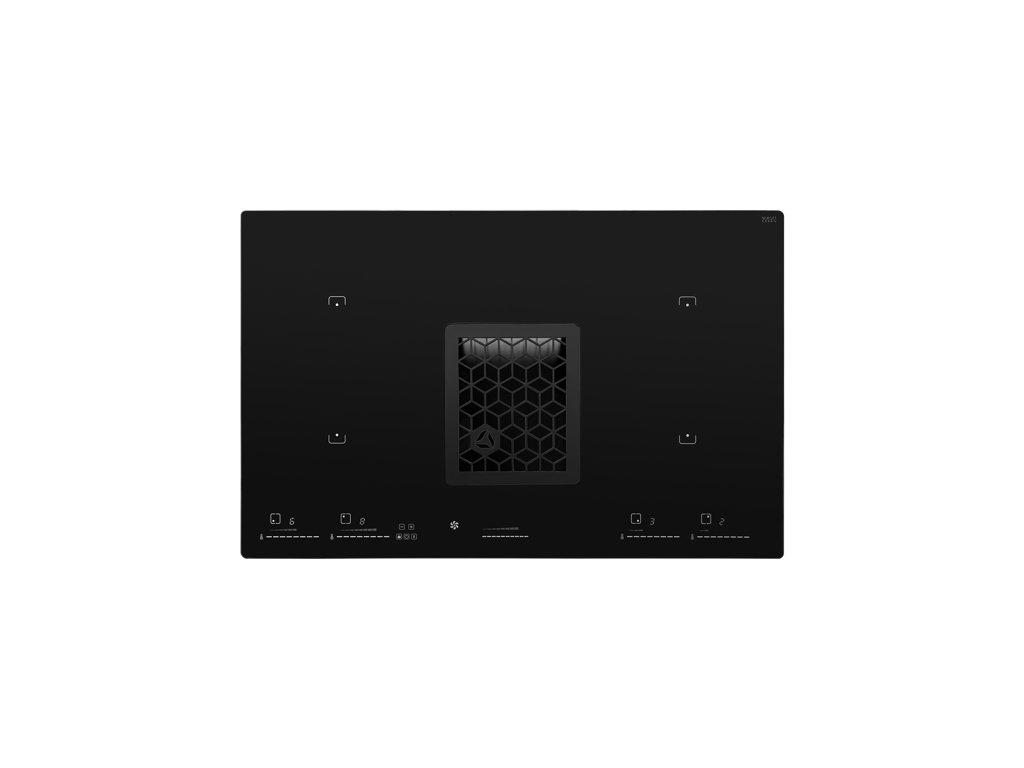 0048166 indukcni deska s integrovanym odsavacem wizard black cdb8001cc 550