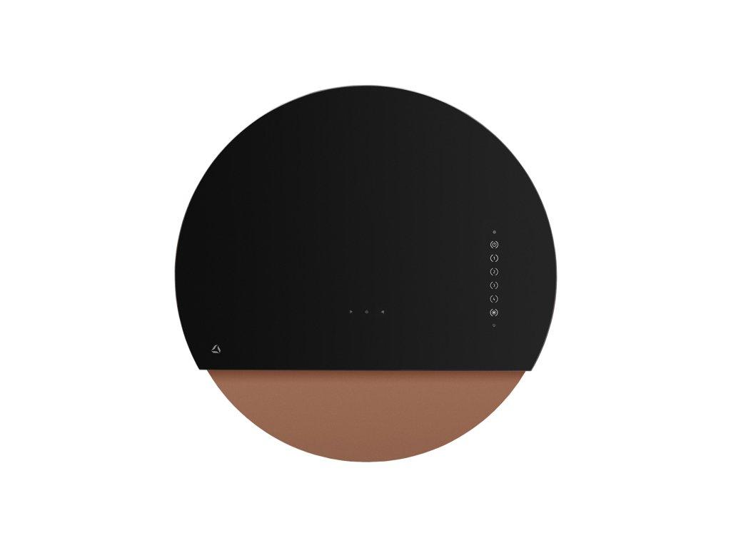 0048206 odsavac sikmy kominovy eclipse black copper cdp6001cr 550
