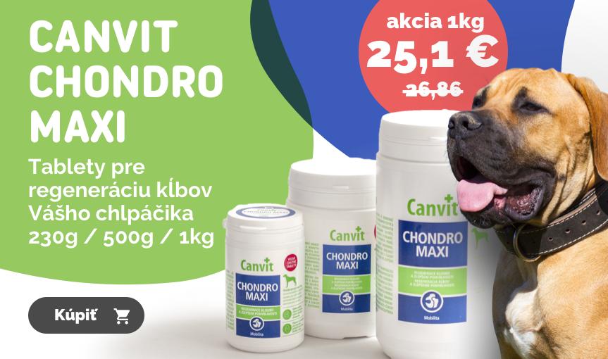 Canvit Chondro Maxi - Tablety pre regeneráciu kĺbov Vášho chlpáčika 230g / 500g / 1kg