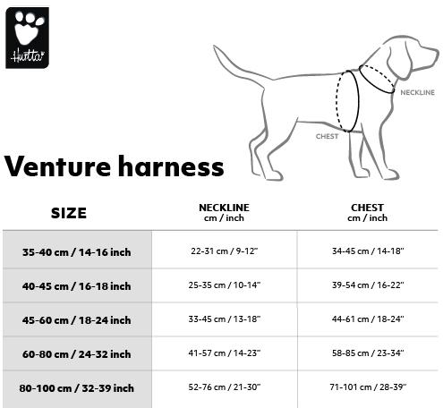 venture-harness-velkostna-tabulka