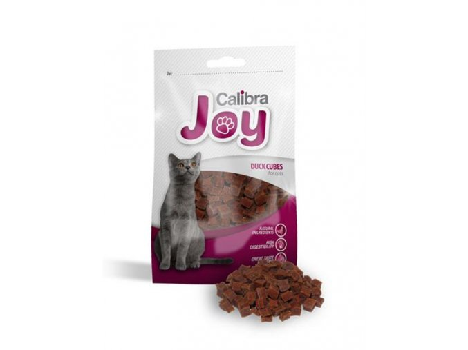 pamlsok calibra joy cat duck cubes 70g