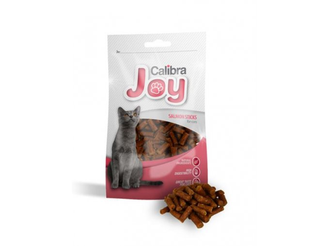 pamlsok calibra joy cat salmon sticks 70g